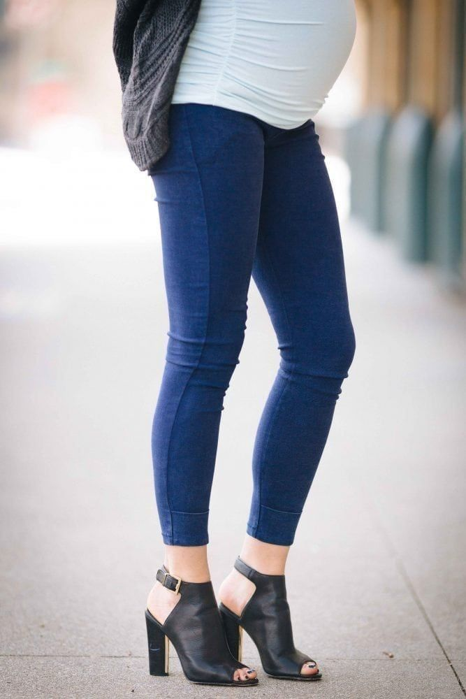 93c5769178cd0 Meet the maternity skinny jeans of your dreams. Sexy Mama Maternity's  Mama's Got Back Maternity Jeans offer the perfect blend of comfort and  style.