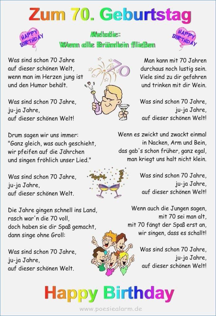 Geburtstagswunsche Zum 70 Ten Awesome Ideen 70 Geburtstag