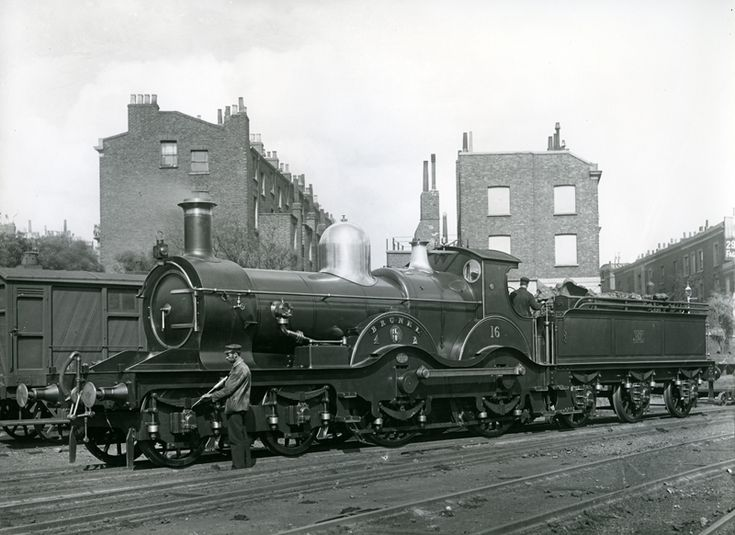 GWR Armstrong Class 'Brunel' 4-4-0 by Dean at Swindon Works