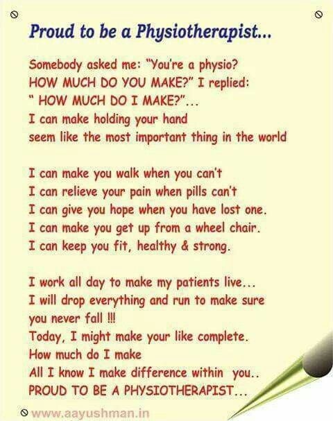 Best Physiotherapy Quotes Images On   Physical