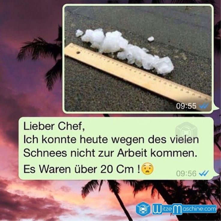 WhatsApp Fails und Chat Fails 19 - 20cm Schnee, kann nicht zur Arbeit kommen - Blau machen