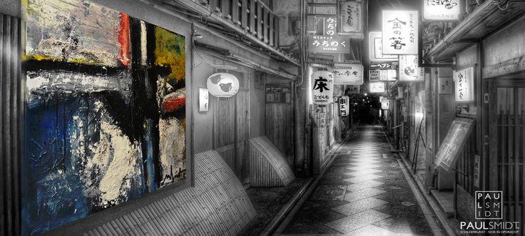 Banner Slide with Abstract Art by Paul Smidt  www.paulsmidt.nl www.facebook.com/paulsmidtschilderkunst