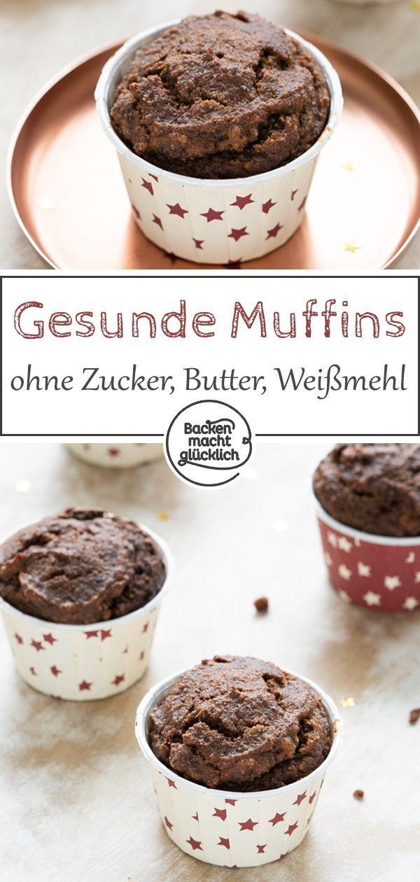 Gesunde Schokoladenmuffins   – Rezepte   gesunde und leckere Inspirationen für Deine Ernährung