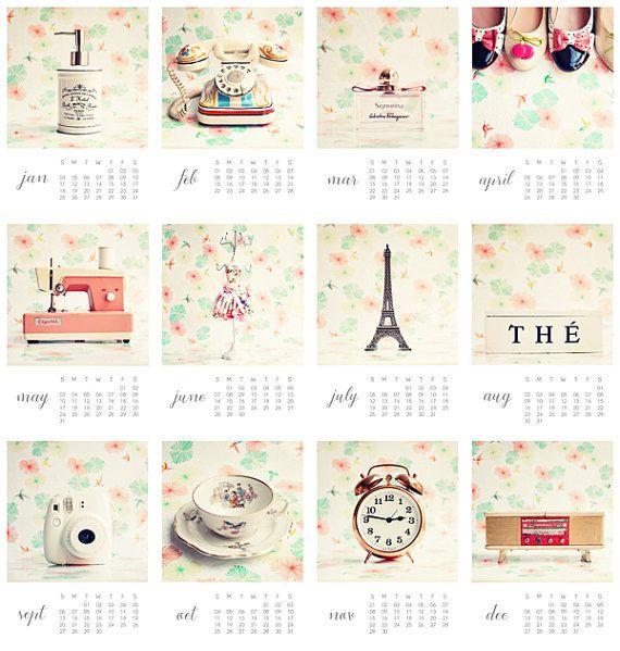 Calendar Girly : Calendrier francophile de cadeau pour lui