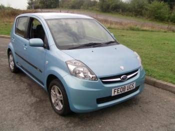 Used 2008 (08 reg) Blue Subaru Justy R for sale on RAC Cars