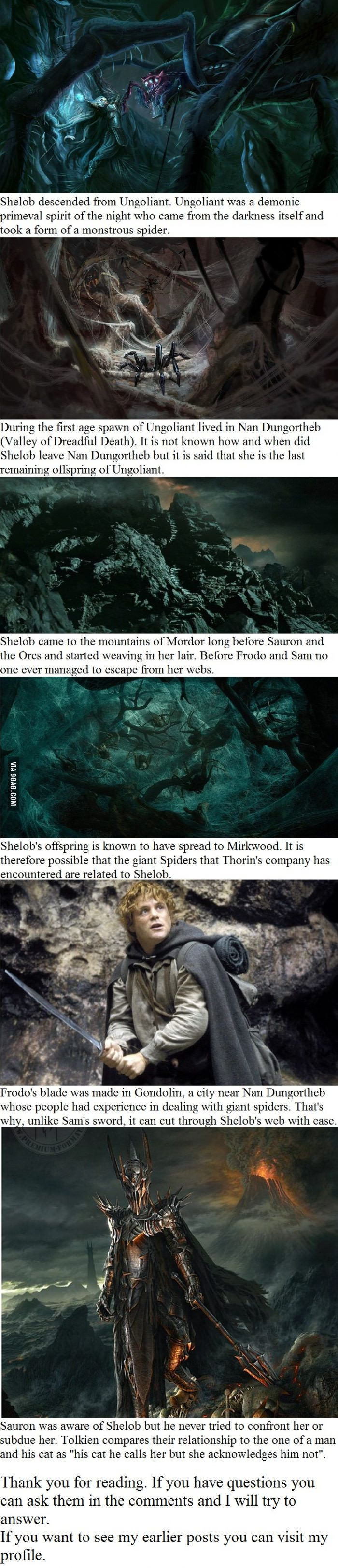 6 Shelob facts you may not have known