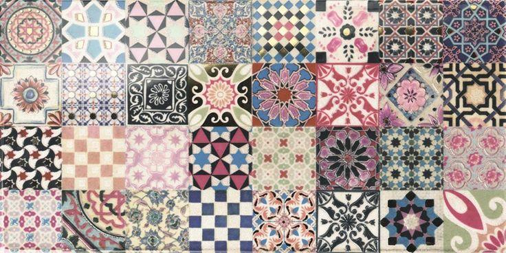 31 best images about id es pour la maison on pinterest countertops mosaics - Carreau ciment mural ...