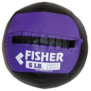 """Fisher Boulder Balls Each weighted ball is the same size - the only difference is the weight. 45"""" circumference 14"""" diameter Allows the athlete to increase the weight without changing their movement. Solid, durable feel and are designed to take plenty of punishment. Comes in 6 lbs, 8 lbs, 10 lbs, 12 lbs, 14 lbs, 16 lbs, 18 lbs, and 20 lbs.  Please specify weight above."""