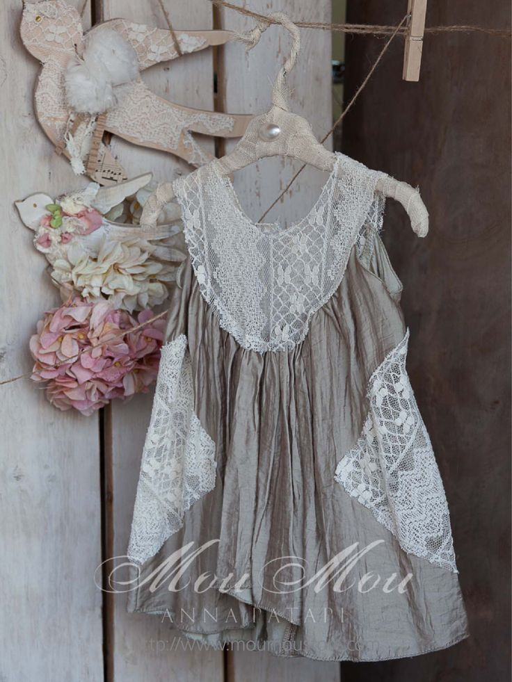 """Christening dress """"COLLECTION 2013 MOUMOU by Anna Patapi"""""""