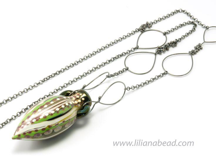Vessel by Liliana Glenn, necklace #aromatherapy