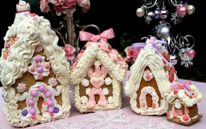 Pink Gingerbread Party