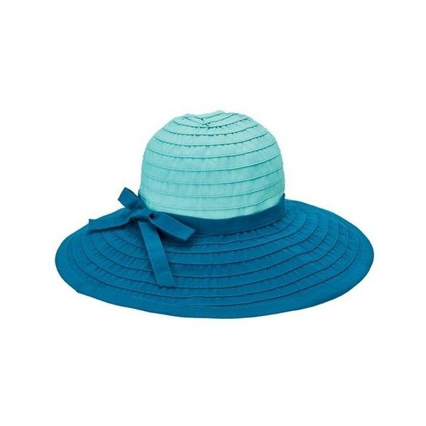 Women's San Diego Hat Company Ribbon Large Brim Hat w/ Bow RBL299 ($40) ❤ liked on Polyvore featuring accessories, hats, floppy brim hat, floppy beach hat, summer sun hats, ribbon hat and floppy sun hat