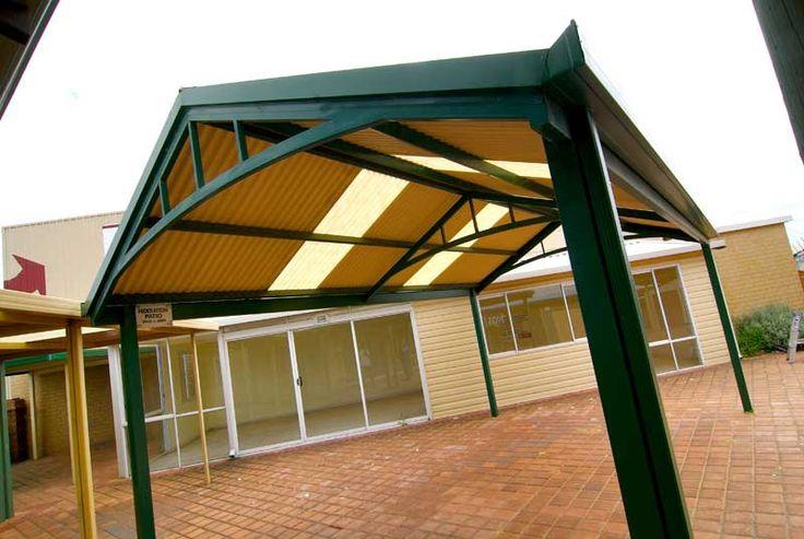 #PatioRoof #OutdoorPatios #PatioDesign #PatioIdeas #Patios #Perth #WA http://www.factorydirectwa.com.au/patios/gableroofdesign