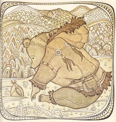 Чукотские сказки  В иллюстрациях Ирины Геннадьевны Павлишиной