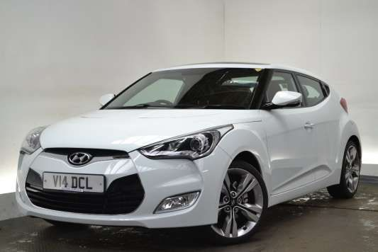 Used 2012 ( reg) White Hyundai Veloster 1.6 GDi Sport 4dr [Media Pack] for sale on RAC Cars