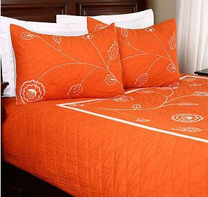 25 Best Ideas About Orange Bedding On Pinterest Bright