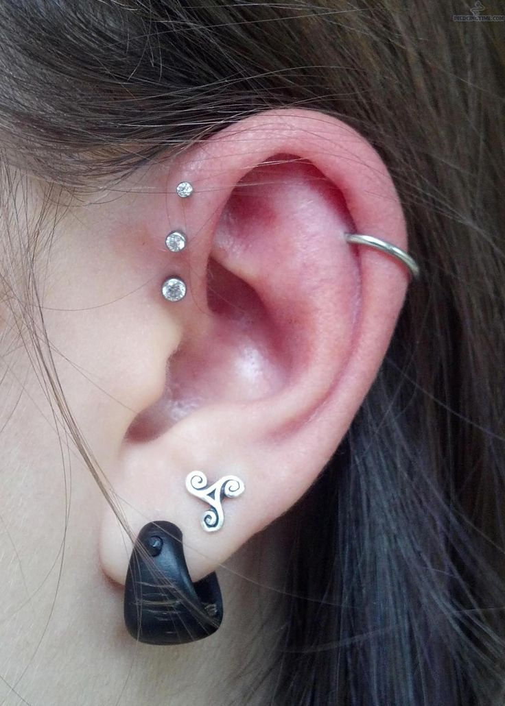 pictures double lobe and inner helix piercings double anti helix helix ...