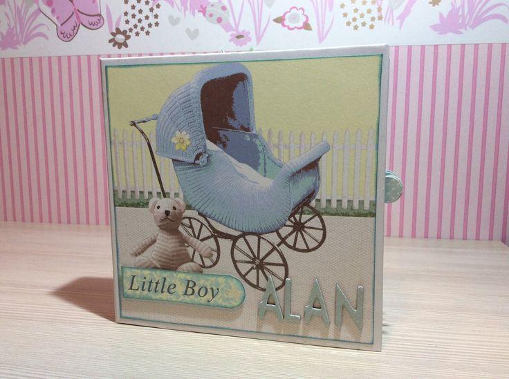 Tutorial mini album It´s a Boy - Parte 1