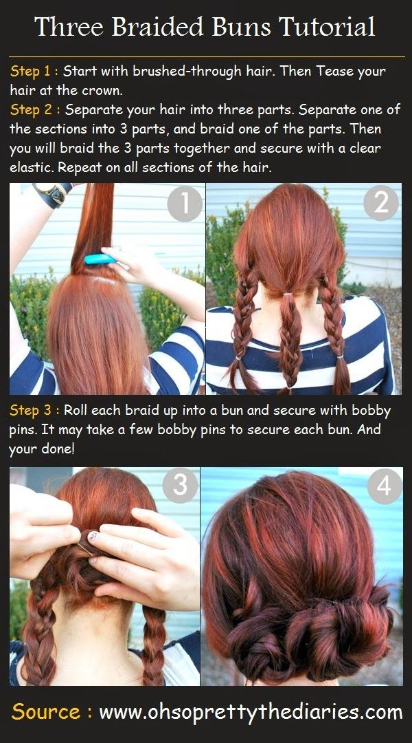 Easy+Updos+for+Long+Hair   Easy Styles for Long Hair. My only question is: why is she doing her hair outside???