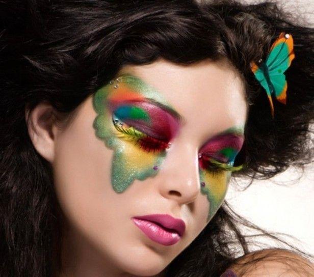 Trucco farfalla per Carnevale