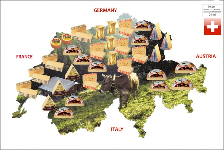 Swiss cheeses in Canada