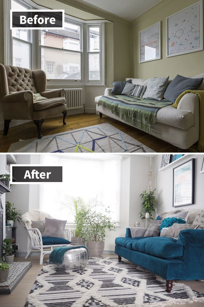 Bedroom Transformation Living Room Makeover Room Makeover