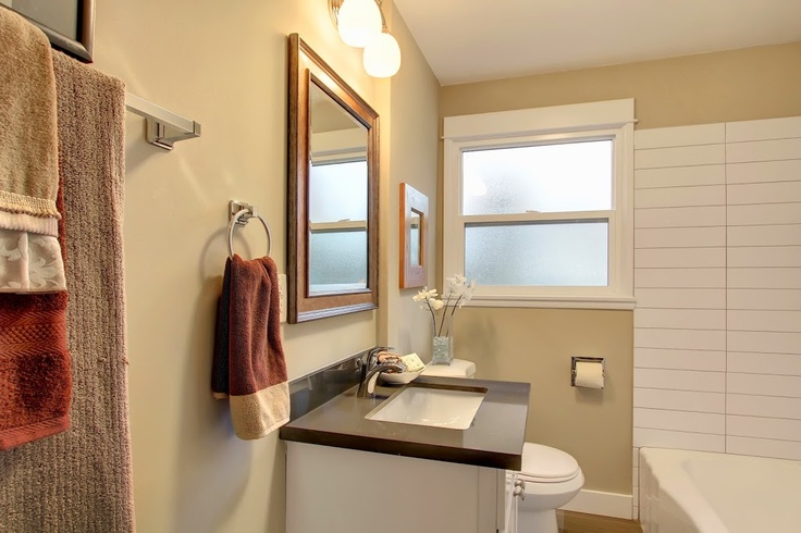 We flipped a house in Greenwood Seattle.. check out the bathroom!