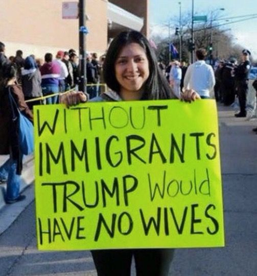 Wonder if this thought ever went through the Orange Man's head.  #noTrump