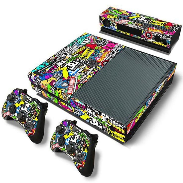 MODFREAKZ™ Console and Controller Vinyl Skin Set - Bombing Graphics for Xbox One #vinyl #vinylcollection #accessories #customized #gaming