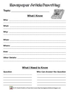 Learning to Teach in the Rain: Creating a Classroom Newspaper: Part 2 of 3