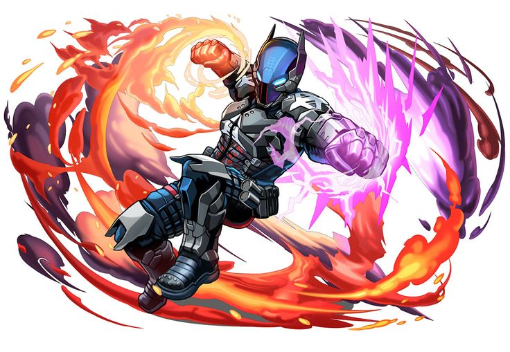 Arkham Knight from Puzzle & Dragons