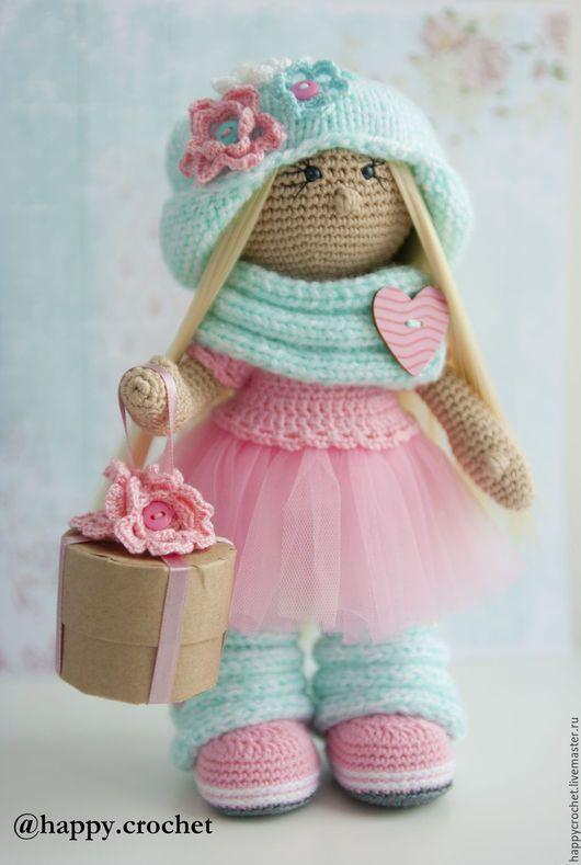 Коллекционные куклы ручной работы. Ярмарка Мастеров - ручная работа. Купить В розово-бирюзовом настроении. Handmade. Розовый, блондинка