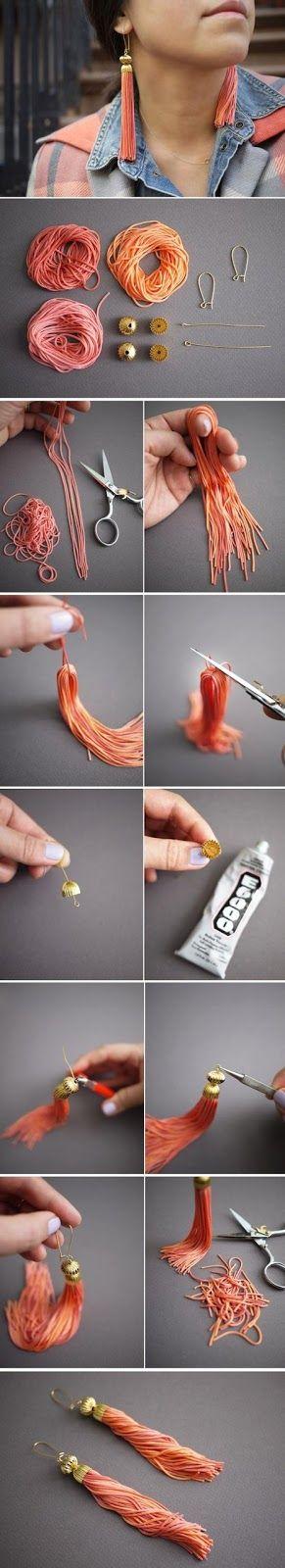 DIY earring ideas