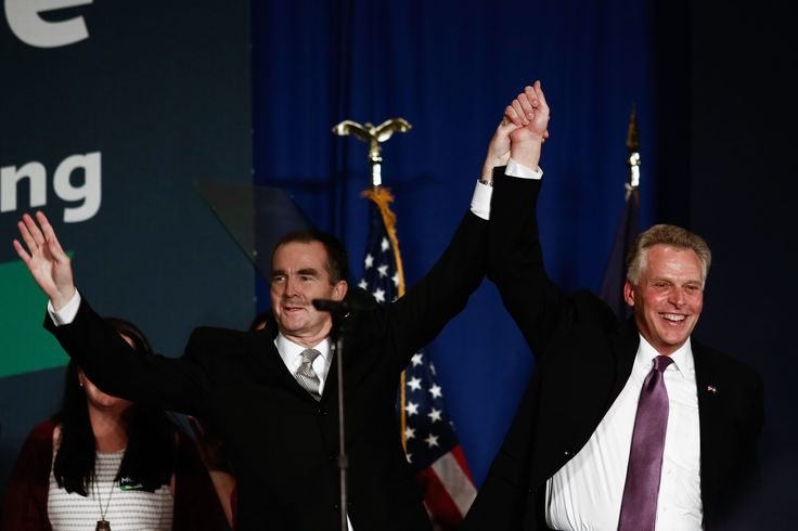 The Cook Political Report and Decision Desk have called the race for Lt. Gov. Ralph Northam.