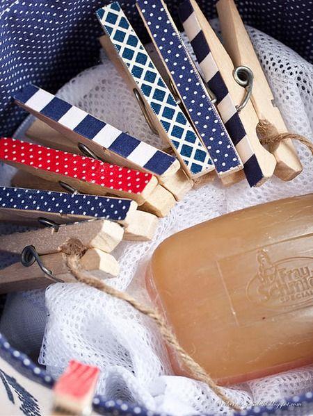i make decoupage clothespins, adore! :)