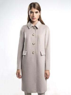 Актуальное пальто прямого силуэта выполненное из мягкой ворсовой ткани. Модель с длинным втачным рукавом, отложным воротником и поясом из своей ткани. Застегивается на пуговицы. Декорировано тамбурным швом. Стильное уютное пальто подарит Вам ощущение роскош, арт. 3016310p00004, состав: Основная ткань: шерсть 95 %, нейлон 5 %; Подкладка: полиэстер 100 %;