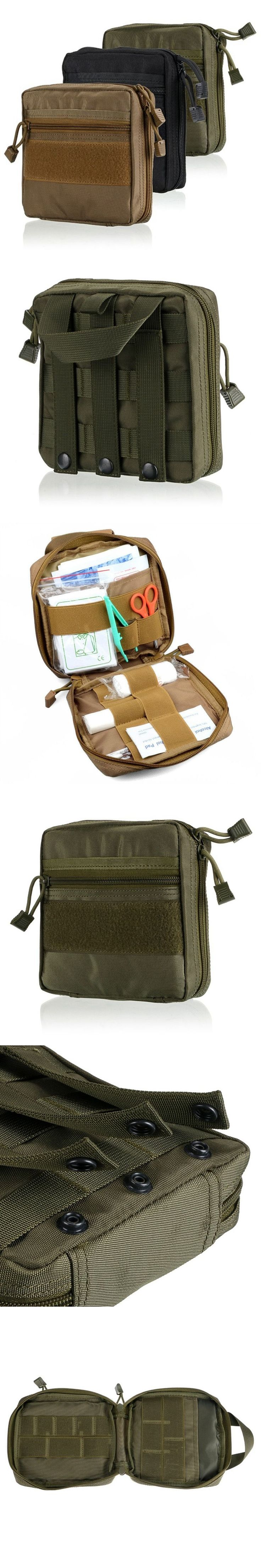 MOLLE EMT First Aid Kit Survival Bag Tactical Multi Medical Kit Utility Tool Belt Pouch Mew Arrival