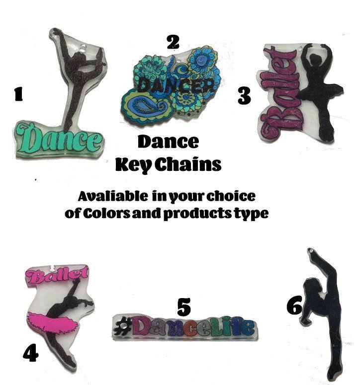 Dance Custom Key Chains – Purposely Designed