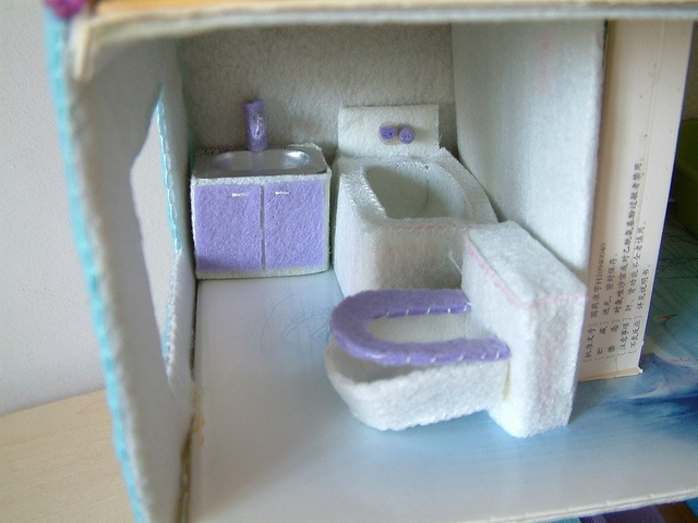 felt doll house---not completed by fairyfox, via Flickr