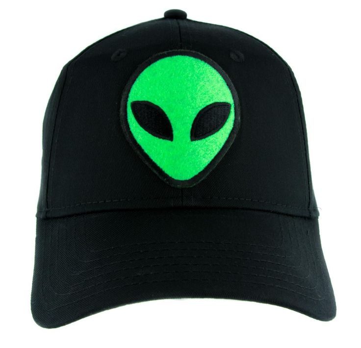 Alien Support Group Hat Baseball Cap Alternative Clothing Little Green Men People of Earth  #knitcap #occultclothing #wallet #gothic #applique