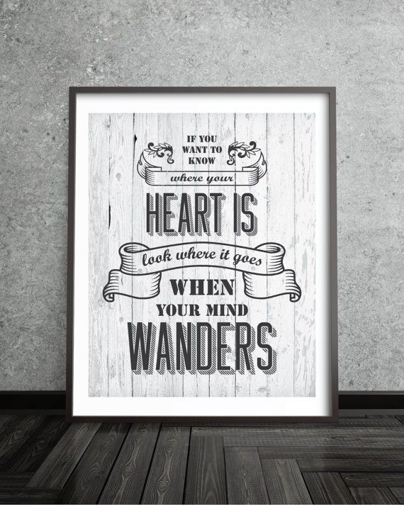 retro typography wall art sign sign quote poster by