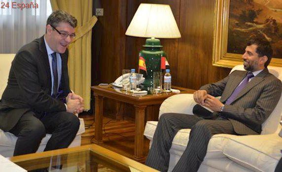 Nadal recibe al ministro de Energía de Emiratos y presidente de Cepsa, Al Mazrouei