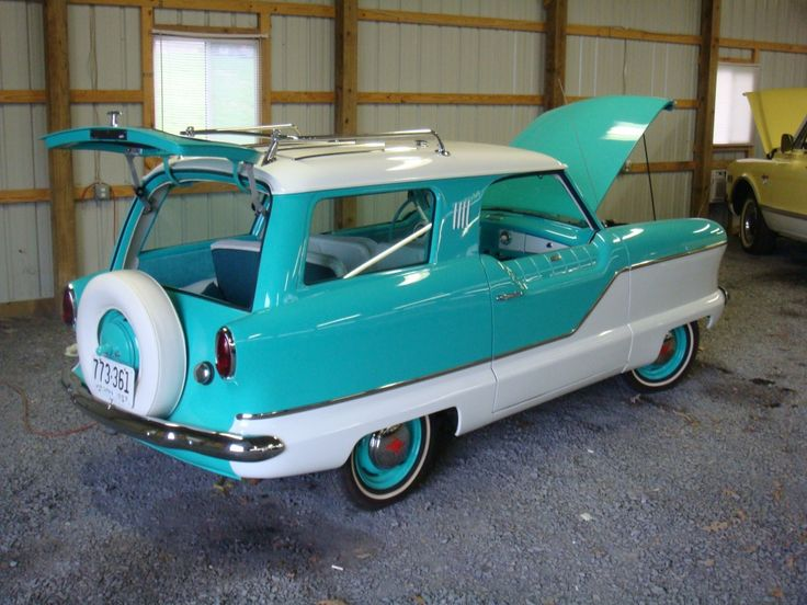 1957 Nash Metropolitan. I didn't know this came in a wagon!  #RePin by AT Social Media Marketing - Pinterest Marketing Specialists ATSocialMedia.co.uk