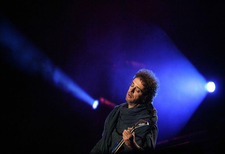 Vea la última prueba de sonido de Cerati, antes de concierto en Caracas en 2010