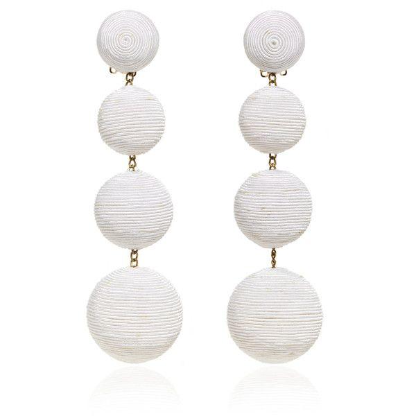 Rebecca De Ravenel Les Bonbons Earrings 490 Bgn Liked On