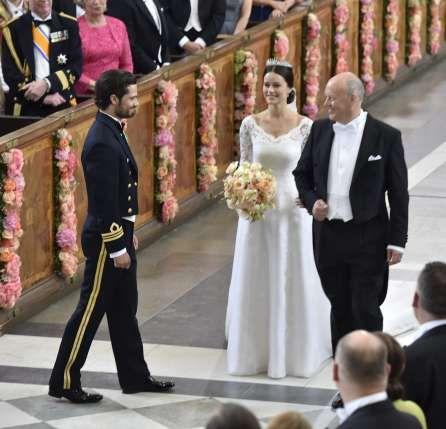 So schön war die Schweden-Hochzeit: Prinz Carl Philip und Sofia sagen Ja | Blick