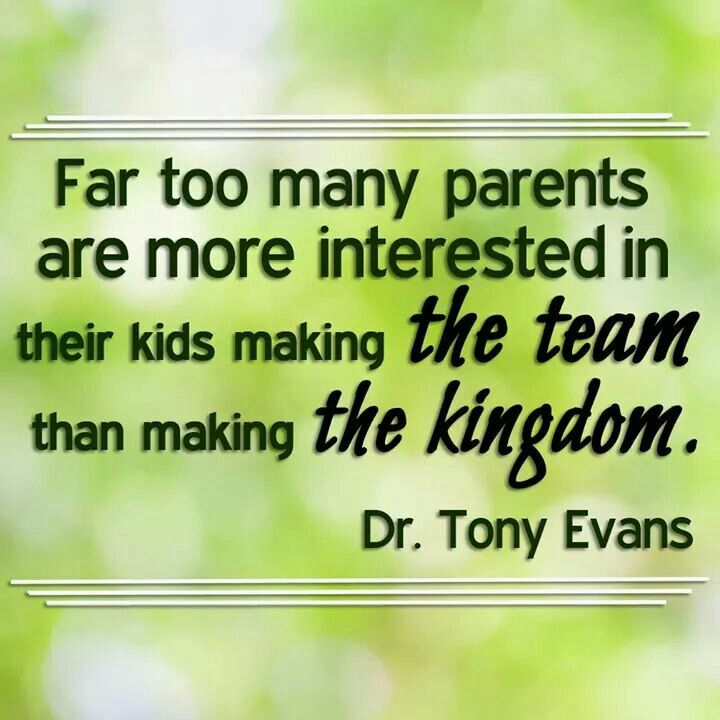 Quote from Dr. Tony Evans