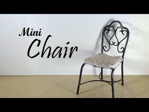 Miniature Vintage Inspired Chair Tutorial