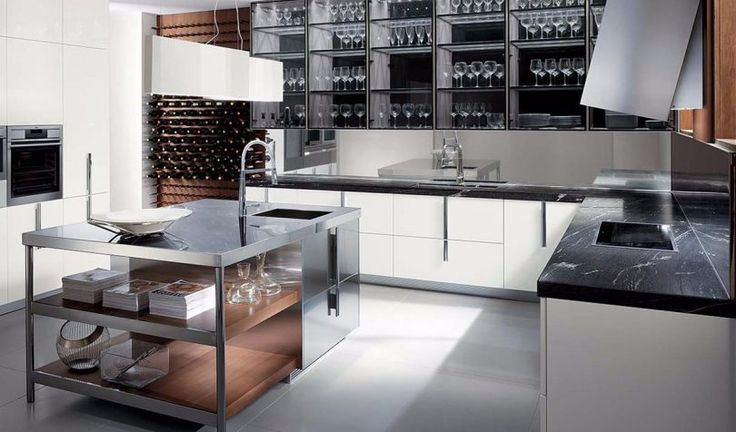 ERNESTOMEDA | Italian modern cupboard | Luxury furniture - Eurooo #ERNESTOMEDA #italianbrand #madeinitaly #KITCHEN #DININGROOM #cupboard #neoclassicl #Luxuryfurniture #Eurooo