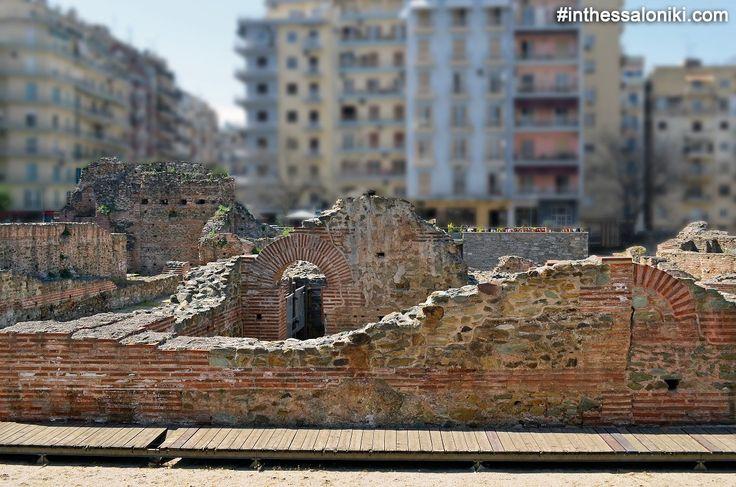 ● Thessaloniki - Galerius Palace Complex - In the modern center of the city lies the beaitiful Roman past of Thessaloniki! ● Θεσσσαλονίκη Ανάκτορα Γαλερίου (Παλάτι Γαλέριου) - Στο σημερινό κέντρο της πόλης αποκαλύπτεται το όμορφο παρελθόν της Ρωμαϊκής Θεσσαλονίκης! ● #thessaloniki #galerius #emperor #roman #galerian #complex #palace #travel #archaeology #θεσσαλονικη #ανακτορα #γαλεριου #ρωμαικη #αρχαιολογια #παλατι #ελλαδα